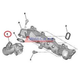 Levegőcső Citroen Jumper Peugeot Boxer 2.2HDI  06- Gyári szám:0382GP