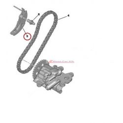 Timing chain tensioner Citroen Jumper Peugeot Boxer 2.2HDI  06- original number:103318