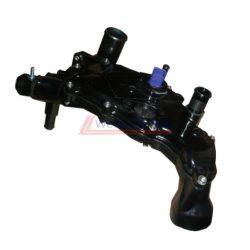 Termosztátház Fiat Ducato Citroen Jumper Peugeot Boxer 2002->  2.0-2.2HDI Gyári szám: 1336V4