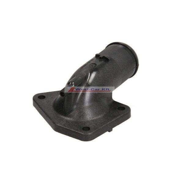 Termosztátház kivezető műanyag cső Citroen Jumper Peugeot Boxer 2.0-2.2HDI Gyári szám: 1336V5