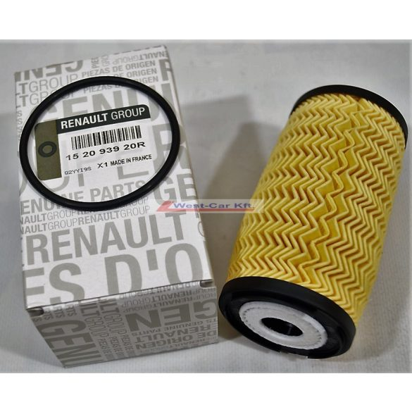 2010-> Renault Master, Opel Movano Nissan Interstar  2.3 Dci gyári Olajszűrő Gyári szám: 152093920R