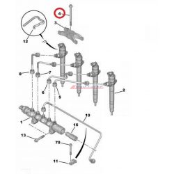 Injektor lefogató csavar Citroen Jumper Peugeot Boxer 2.2HDI  06- Gyári szám:1610369580