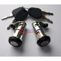 Iveco Daily első zárbetét készlet (Bal-Jobb) 2 kulccsal  2000-2006