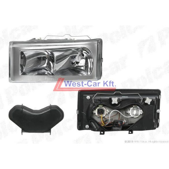 Iveco Daily right front/passengerside headlight 2000-2006