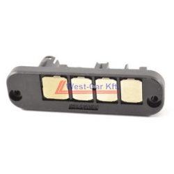 2006-> Iveco Daily tolóajtó elektromos érintkező 4 tüskés Gyári szám: 500321582