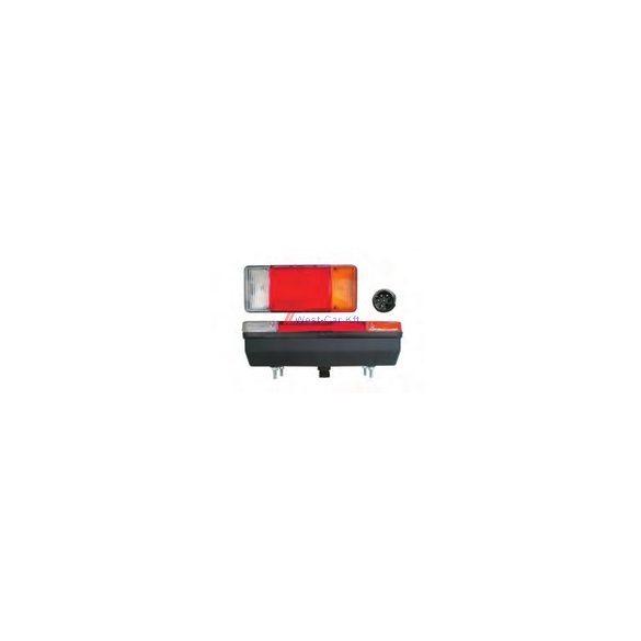 Iveco Daily 2000-2006 jobb hátsó lámpa alvázas kivitelhez (7 pin)