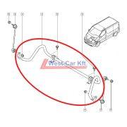 2014-> Renault Trafic Opel Vivaro gyári (Renault) gyári stabilizátor  gyári szám: 546113587R