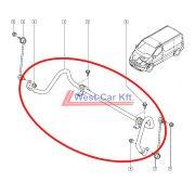 2014-> Renault Trafic Nissan NV300 Opel Vivaro stabilizátor komplett Gyári szám: 546115535R