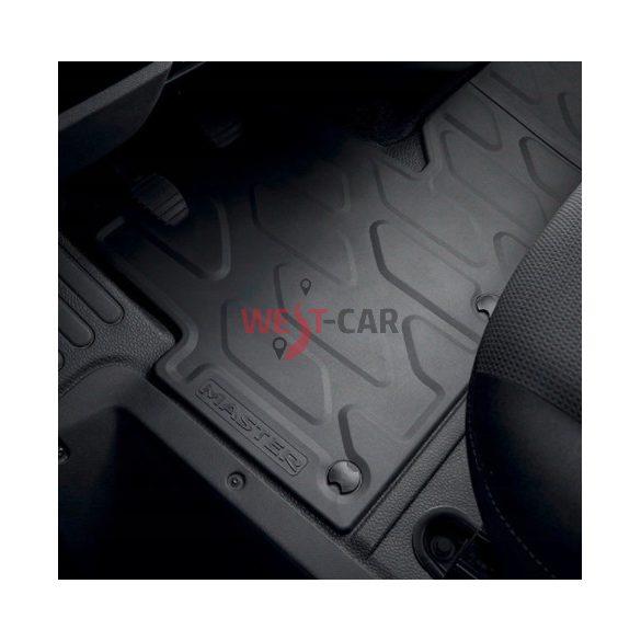 Renault Master 2010-> GYÁRI gumiszőnyeg szett  gyári szám: 7711426008