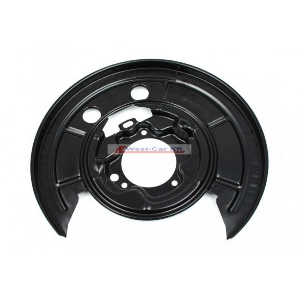 2006-tól Ducato Jumper Boxer Bal hátsó féktárcsa porvédő lemez Gyári szám: 77364017