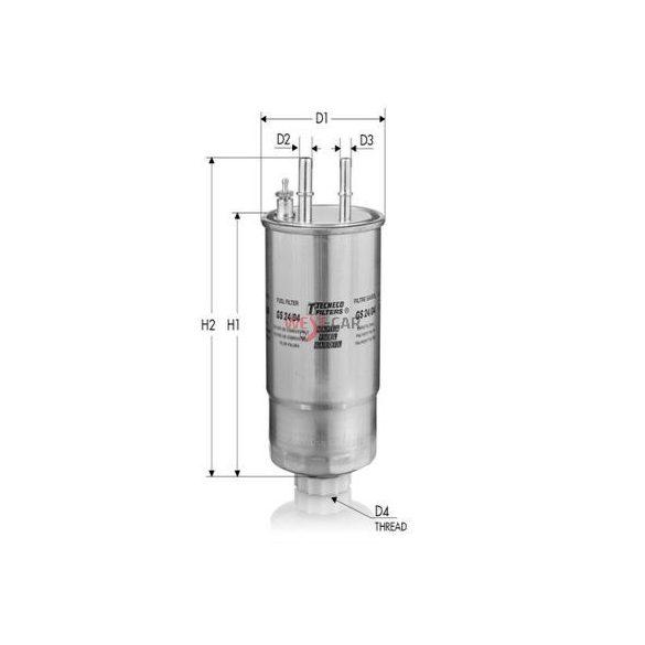 Üzemanyagszűrő Citroen Jumper Peugeot Boxer 3.0HDI  12- 175KM Gyári szám:77366565
