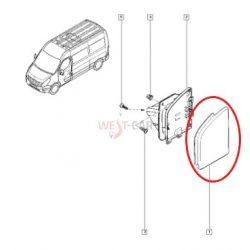 2010-> Renault Master / Opel Movano /N. NV400 2.3 Dci Üzemanyagbetöltő nyílás / tankajtó takaró díszléc Gyári szám: 788300019R