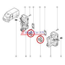 2001-> Reanult Trafic Opel Vivaro Nissan Primastar Gyári (Reanult) első ajtóütköző Gyári szám: 8200195419