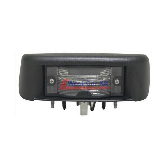 2001-> Renault Trafic Opel Vivaro gyári (Nissan) ajtóra szerelt rendszámtábla világítás gyári szám: 8200434687