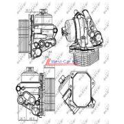 2006-> Boxer Jumper Ducato Ford Transit olajhűtő Gyári szám: 9808866680