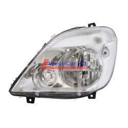 2006-2013 Mercedes Sprinter BAL fényszóró elektromos fényszóró magasság állítás funkcióval Gyári szám: A9068200561