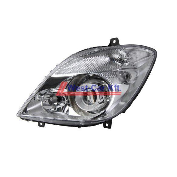 2006-2013 Mercedes Sprinter Bi-xenon BAL fényszóró Gyári szám: A9068200961