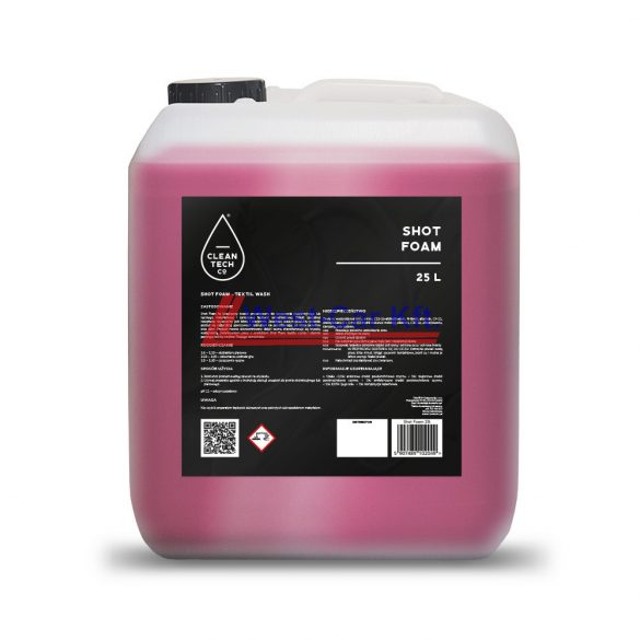 Shot Foam - A foltmentes kárpitokért 25L Cleantech Co