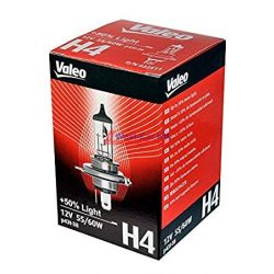 Valeo H4 +50% fényszóró izzó 12V 60/55W 50%-al nagyobb fényerővel!