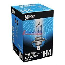 Valeo H4 Blue effect fényszóró izzó 12V 60/55W Kék hatású fénnyel