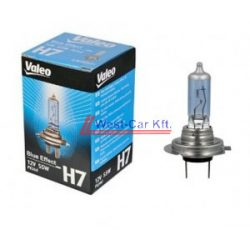 Valeo normal H7 light bulb 12V 55W PX26D blue effect