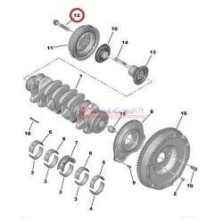 crankshaft pulley bolt Citroen Jumper Peugeot Boxer 2.2HDI BOX 06- original number: 0516K2