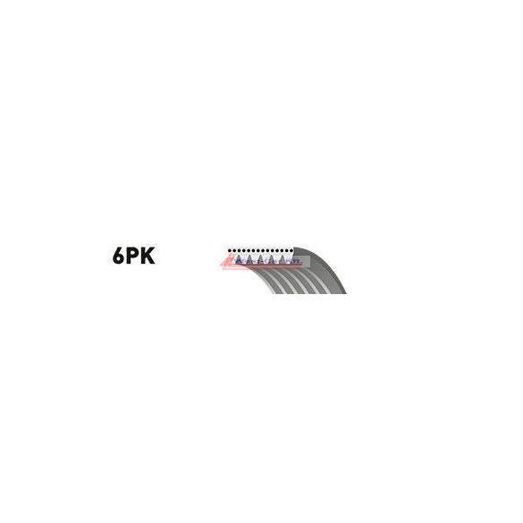 2006- Boxer Jumper  Hosszbordás szíj 6PK873  2.2hdi Gyári szám: 5750XP